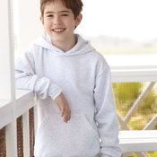 Hanes  P473 Ecosmart Youth Hooded Sweatshirt