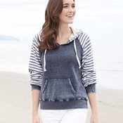 MV Sport W15106 Women's Angel Fleece Sanded Piper Pullover Sweatshirt